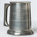 00469(1)-1959, Trophy, Beer Stein, 69 Platoon Best Recruit, Rifleman JB Henhoeffer, front