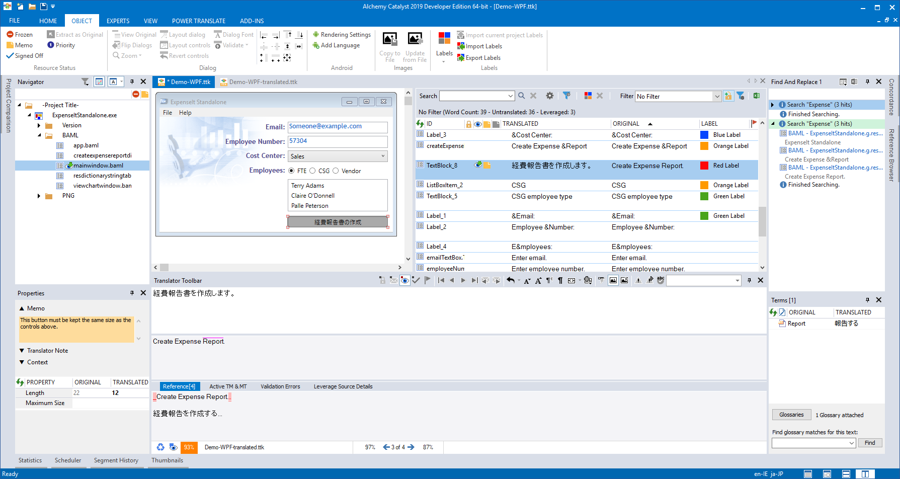 Working with Alchemy Catalyst 2019 SP1 full license