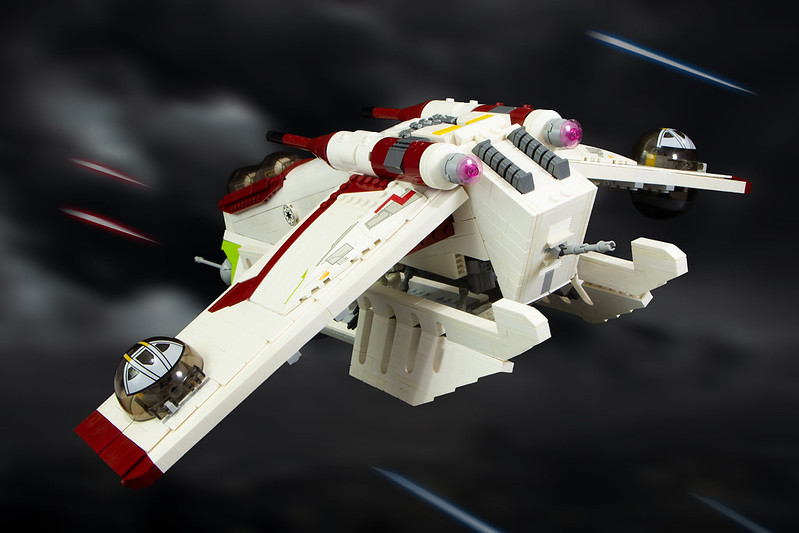 Republic Gunship Rear