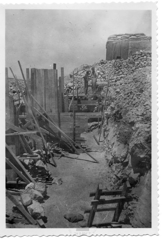 Neve-Ilan-building-fortifications-194806-ybz-1