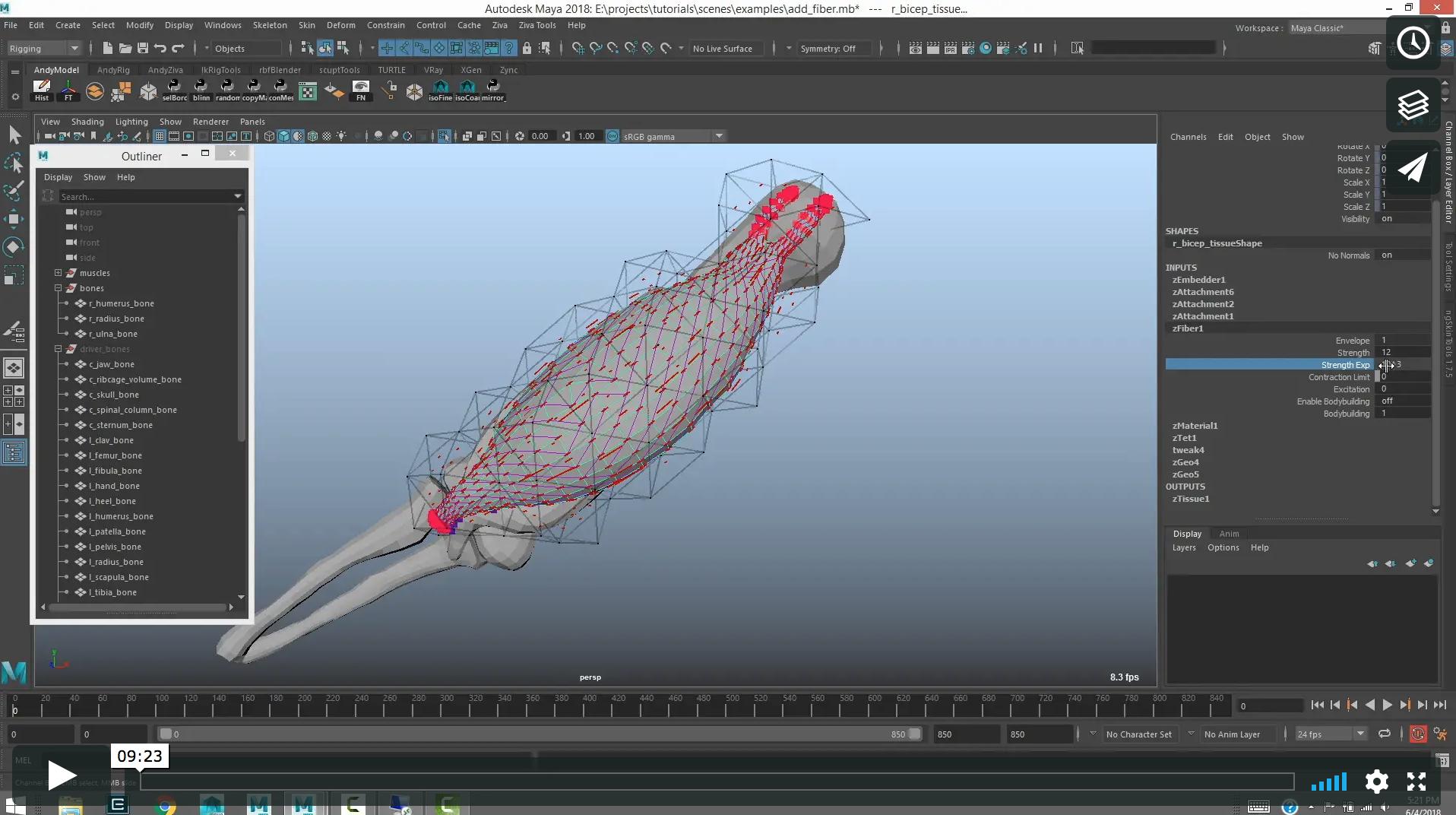 Working with Ziva Dynamics Ziva VFX 1.9 x64 for Maya full license