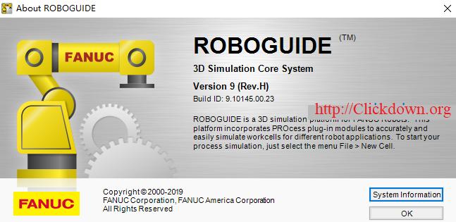 FANUC ROBOGUIDE 9 Rev.H full license