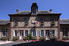 Town hall of Le Bec-Hellouin