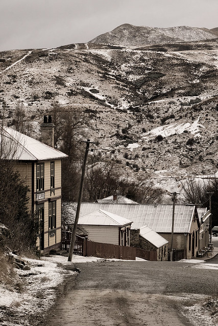 Historic St Bathans in winter