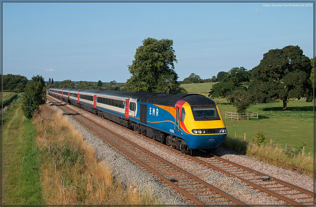 Indian Summer For Porterbrook HSTs