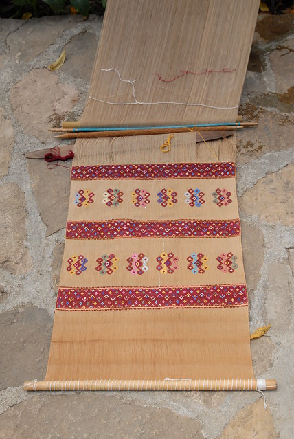 Backstrap Loom Maya Tenejapa Chiapas Mexico