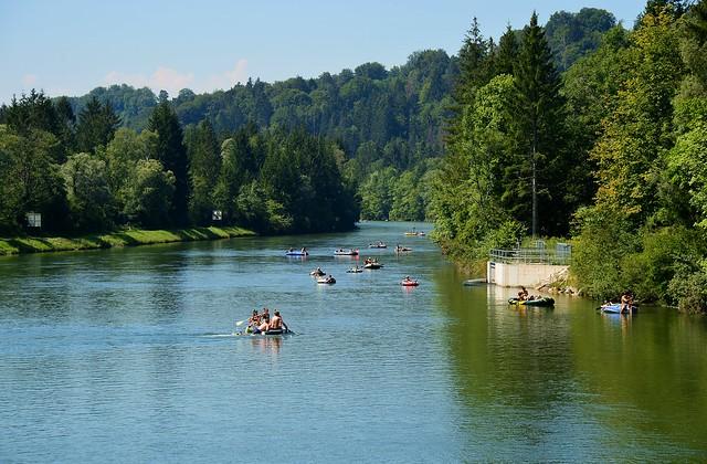 Egling - Isar Boating