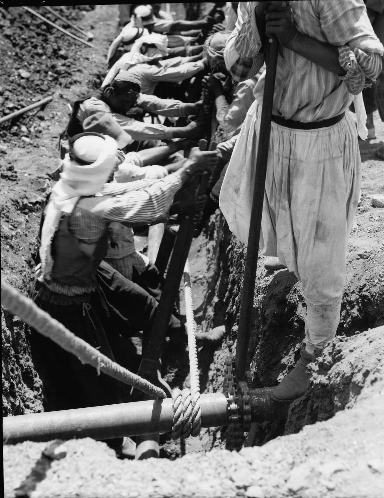 19. Укладка трубопровода.