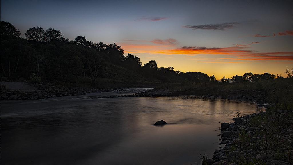 North Esk Morphie Dyke Sunset