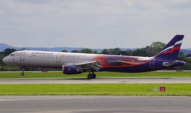 Aeroflot A321-211 VP-BTL. 08/08/20