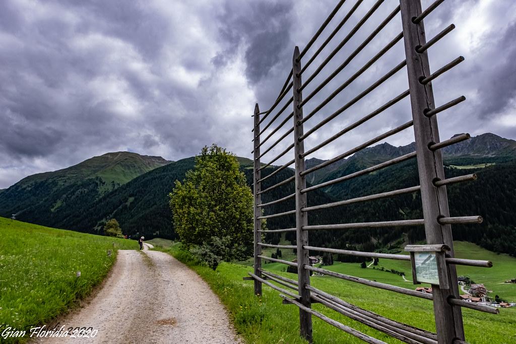 Antichi strumenti dell'economia di montagna: un'arfa (harpfe) in Val di Casies (BZ)
