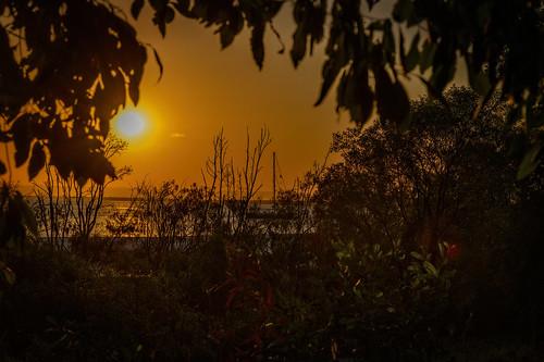 landscape sunset boat cruiser bribieisland sea ocean buckleyshole nikond850 nikon 24120mmf4vrg nature outdoors