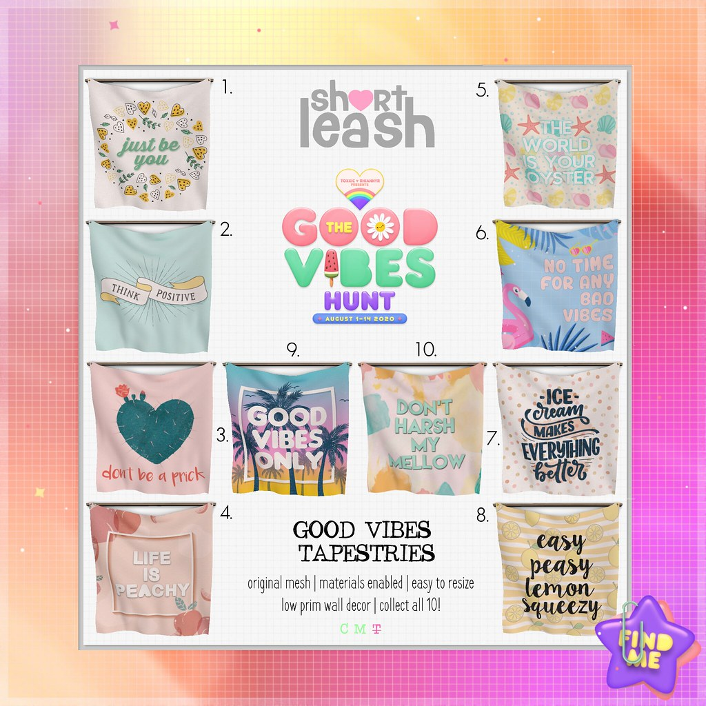 .:Short Leash:. Good Vibes Hunt 2020 Key