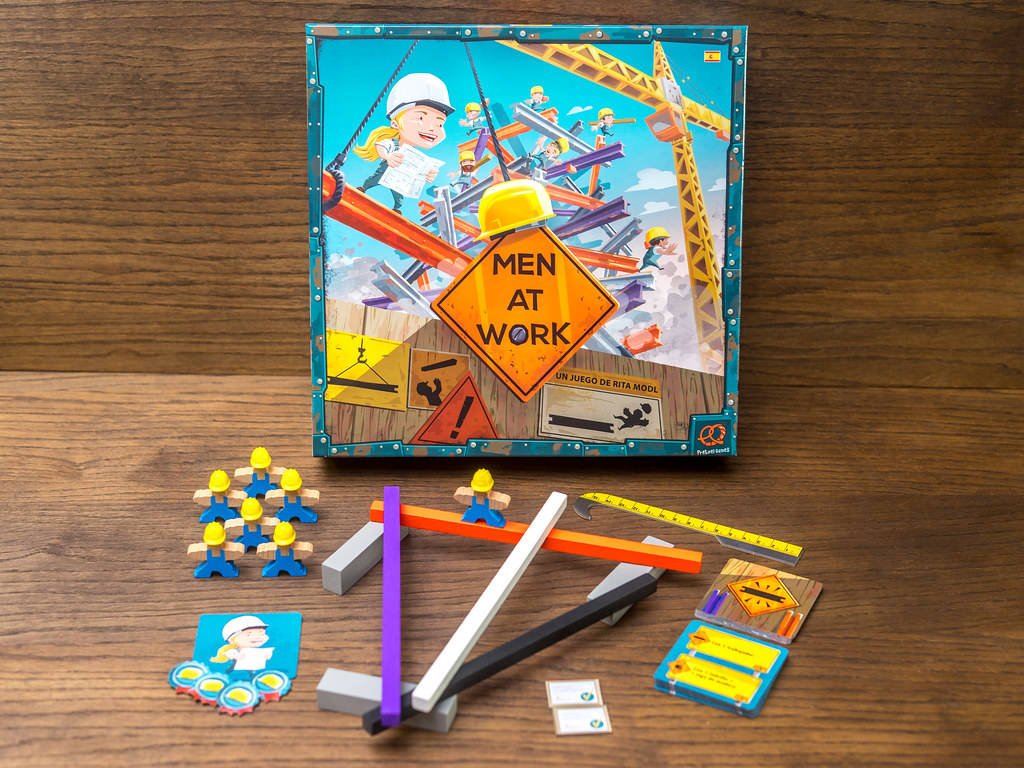 men at work game juego