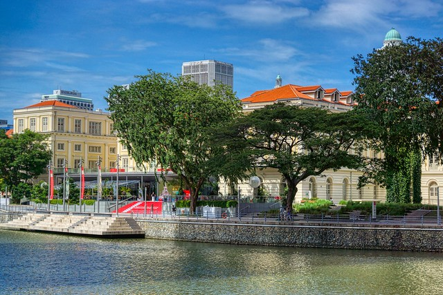 Asian Civilizations Museum by the Singapore river