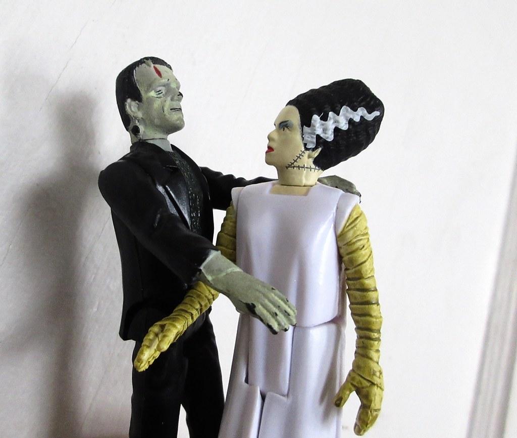 2020 Frankenstein Monster And The Bride 2368