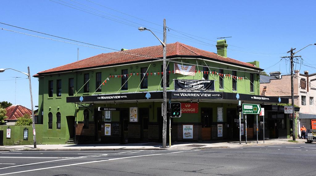 The Warren View Hotel, Enmore, Sydney, NSW.
