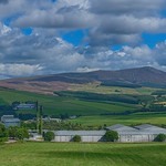 8. August 2020 - 10:52 - Looking across Glenlivet distillery towards Ben Rinnes
