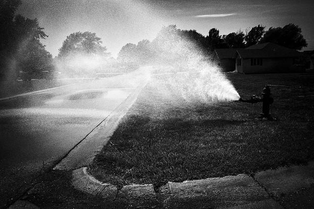 Hot Day, Big Spray