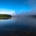 MISTY MORNING ON THE LAC TREMBLANT