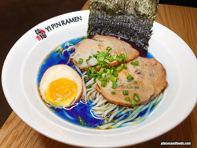 yi pin blue ramen