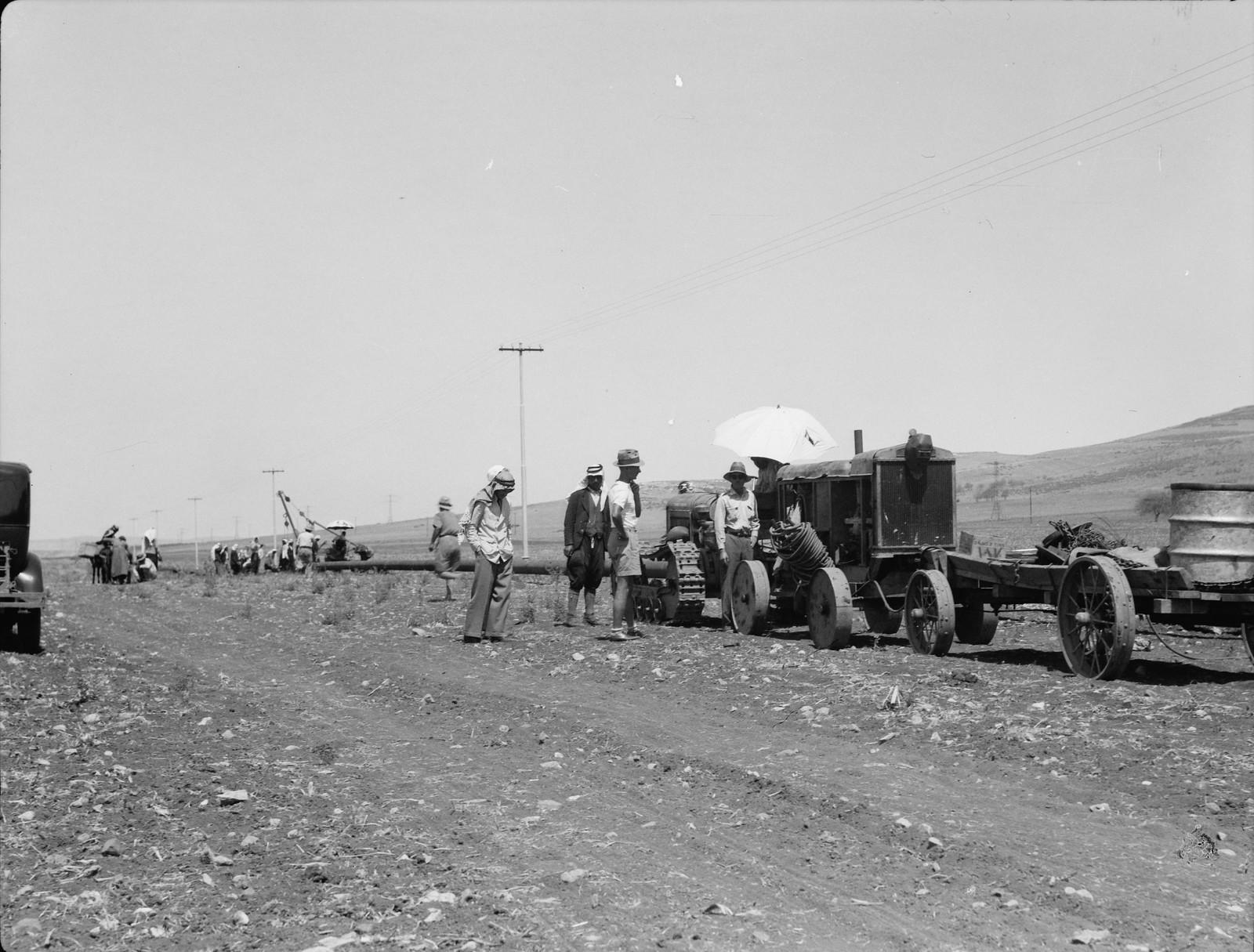 15. Изреельская долина. Подготовка к стыковке труб