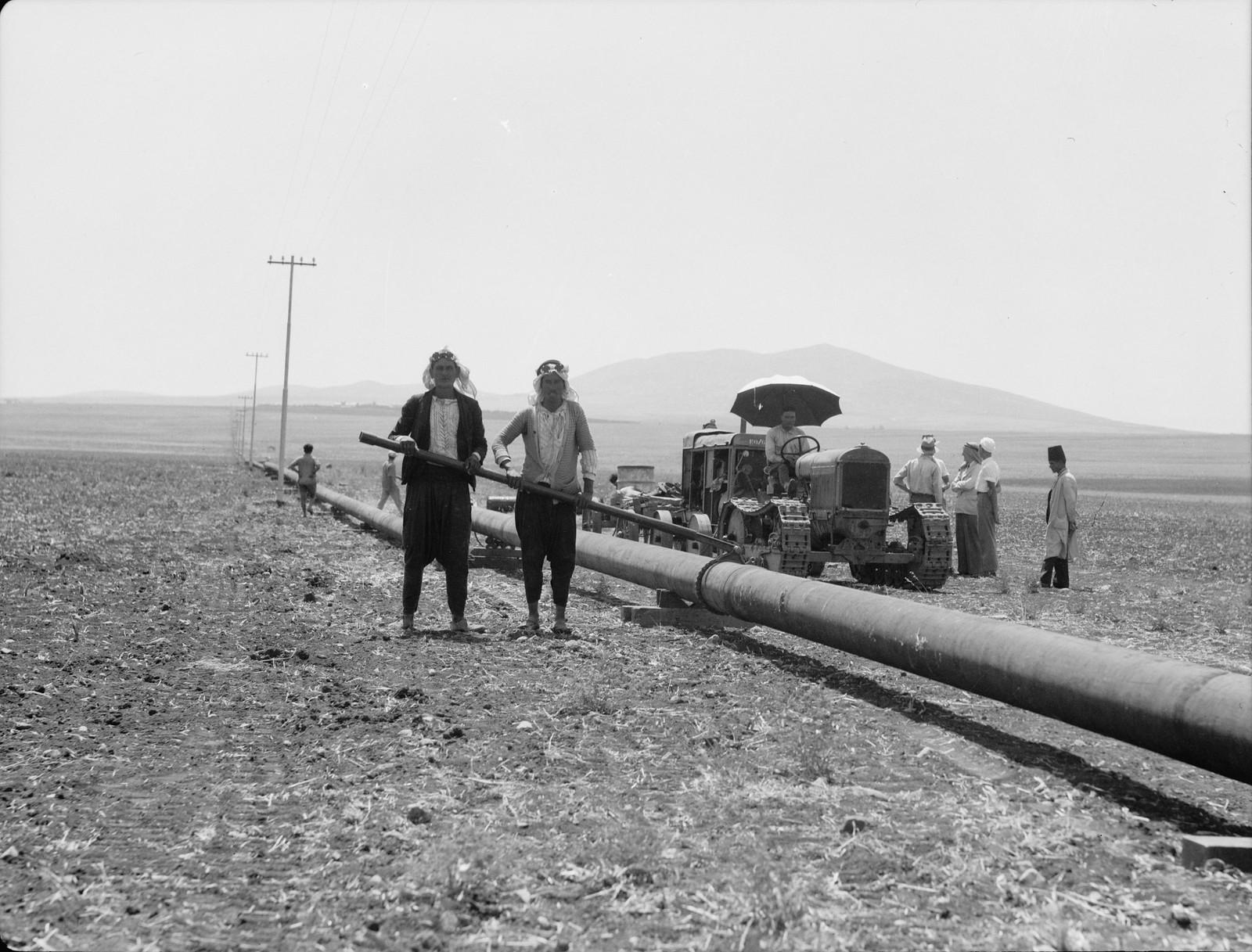 13. Изреельская долина. Сварка труб