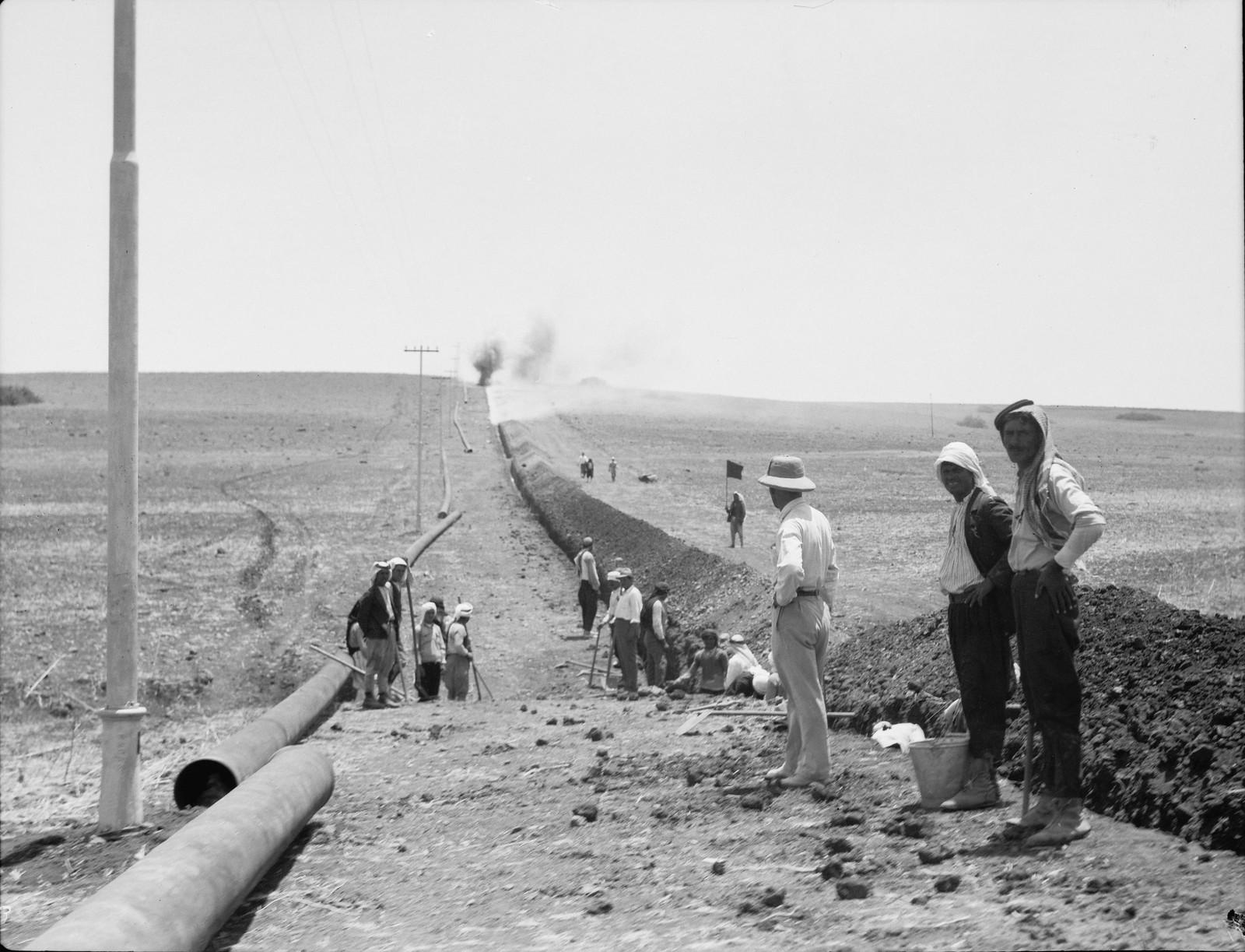 06. Подготовка траншеи для трубопровода на Изреельскую долину. Взрывные работы