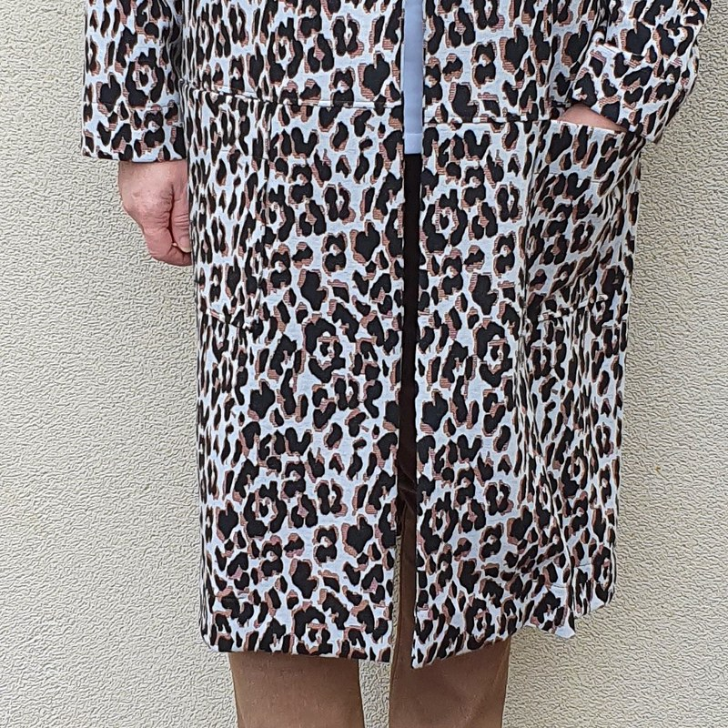 Style Arc Parker coat in double knit from Super Cheap Fabrics