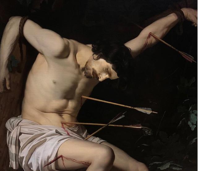 Gian Boy as St. Sebastian