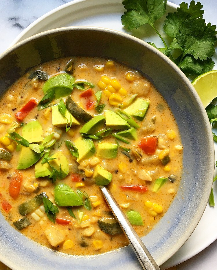 http://www.supperwithmichelle.com/2020/07/southwestern-inspired-corn-and-zucchini-chowder/