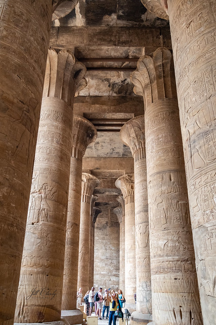 Armchair Traveling - Temple of Horus at Edfu