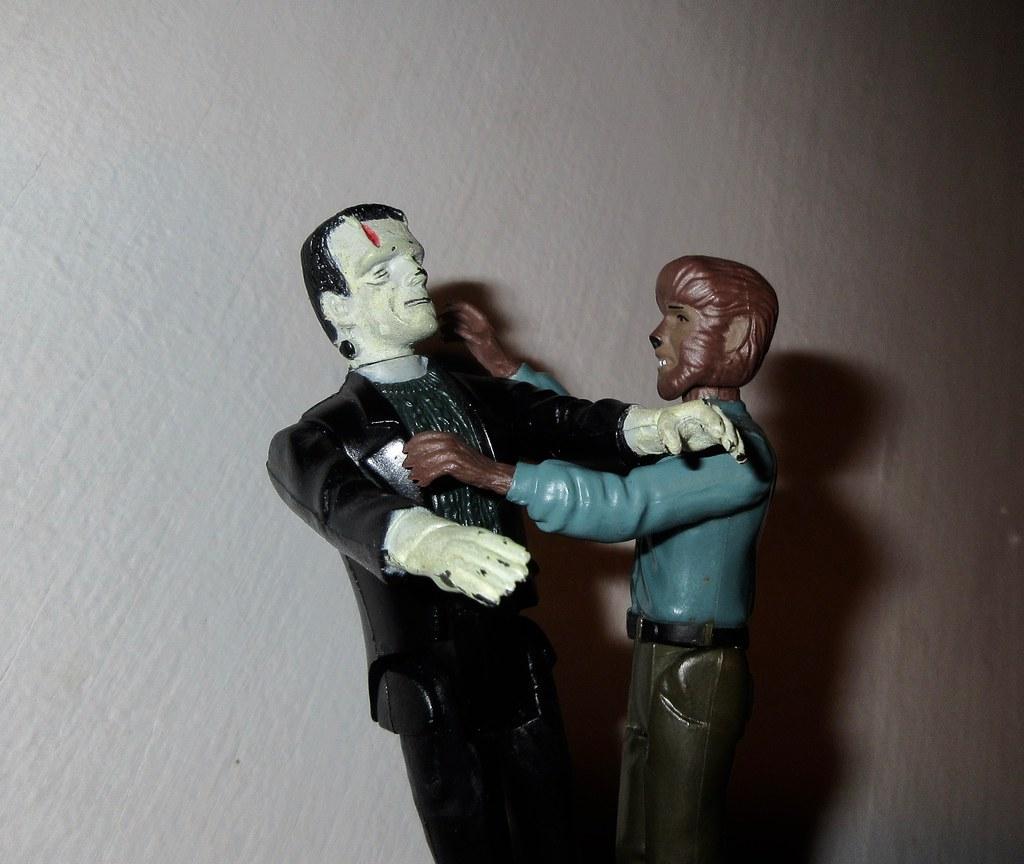 2020 Frankenstein Vs The Wolfman 1980 Remco 2553