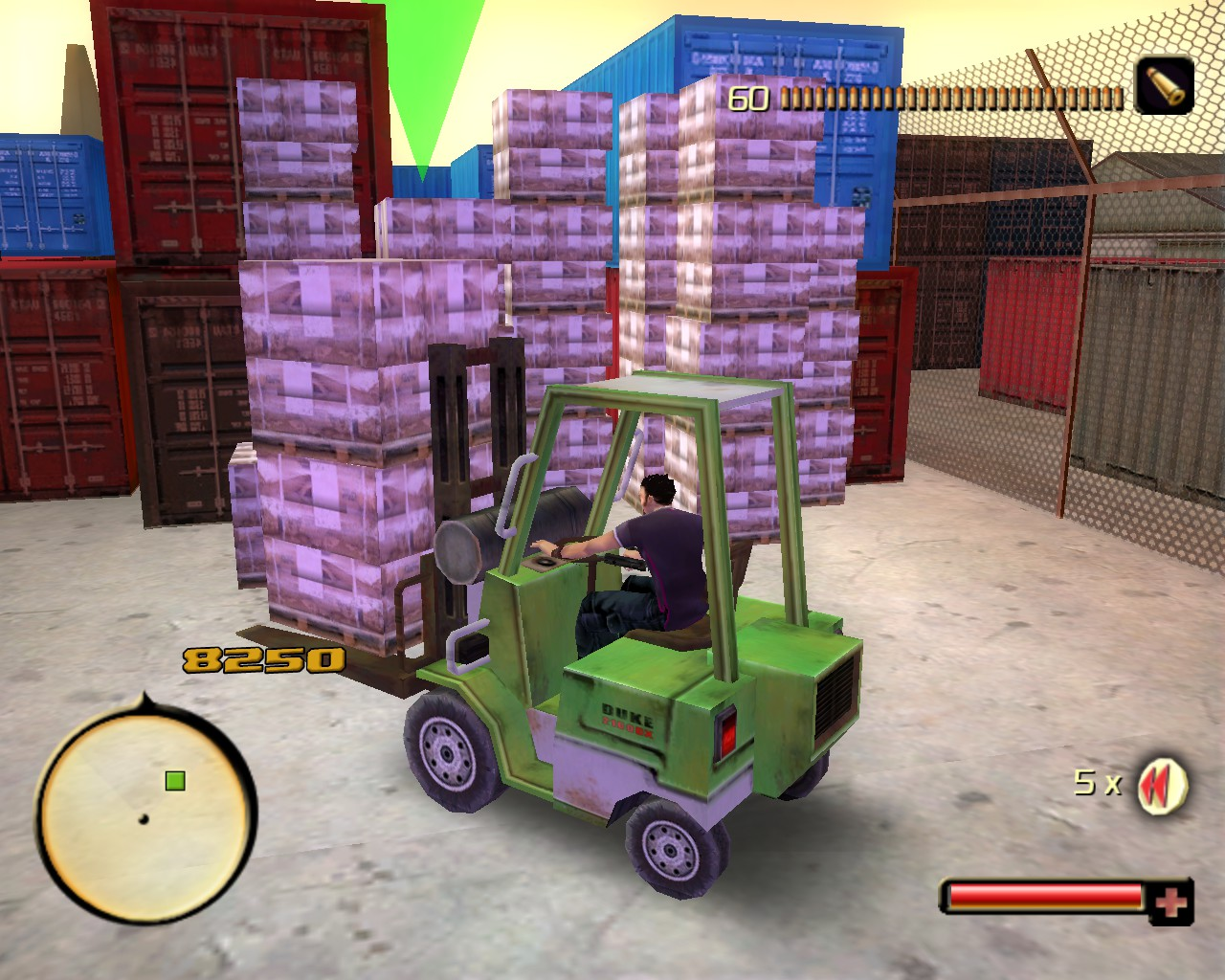 Total Overdose - Forklift Mini-Game