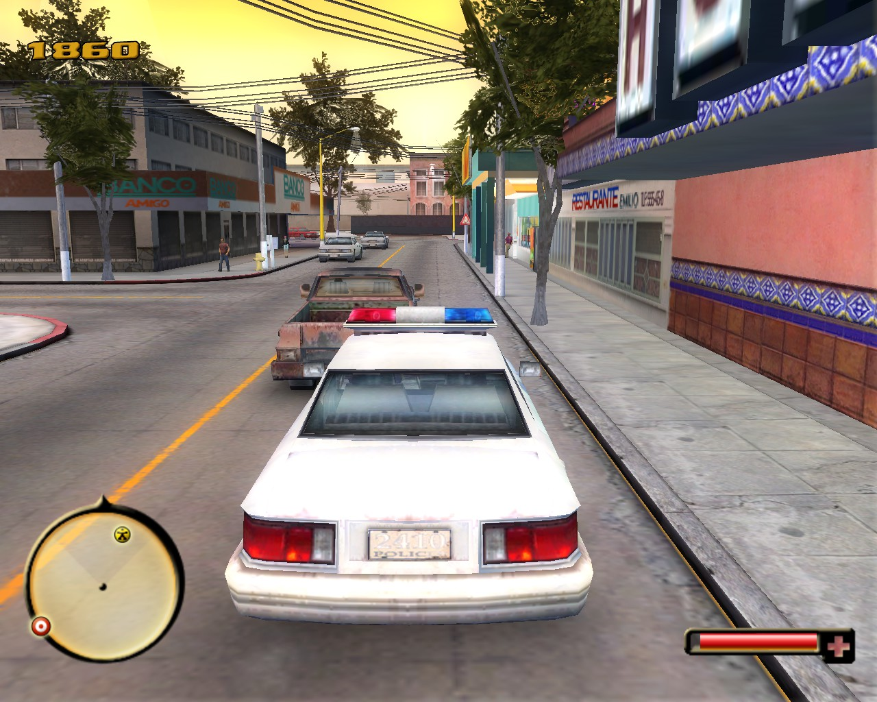 Sobredosis total - Police Cruiser