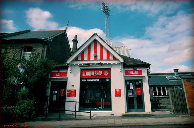 Griffin Park`Brentford