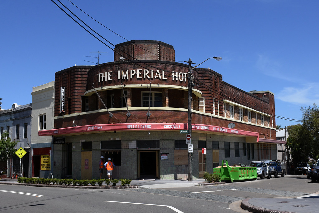 Imperial Hotel, Erskineville, Sydney, NSW.