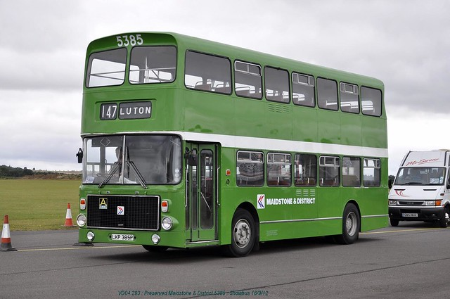 Preserved Maidstone & District 5385 120916 Duxford*