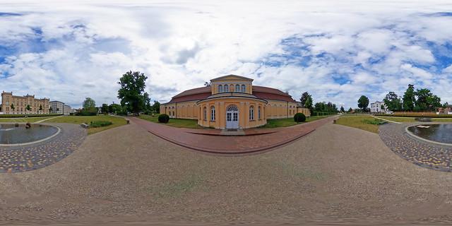 Neustrelitz - Schlosspark, Orangerie 360 Grad