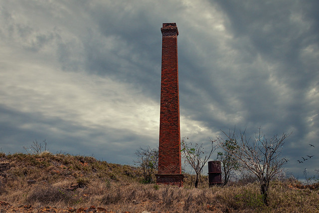 Ravenswood Gold-mine Chimney