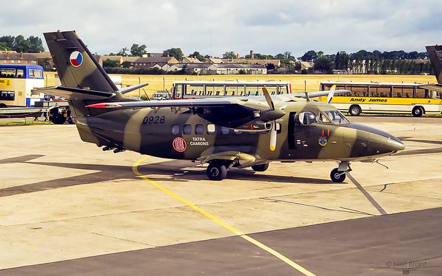 Czech Air Force LET L-410T 0928