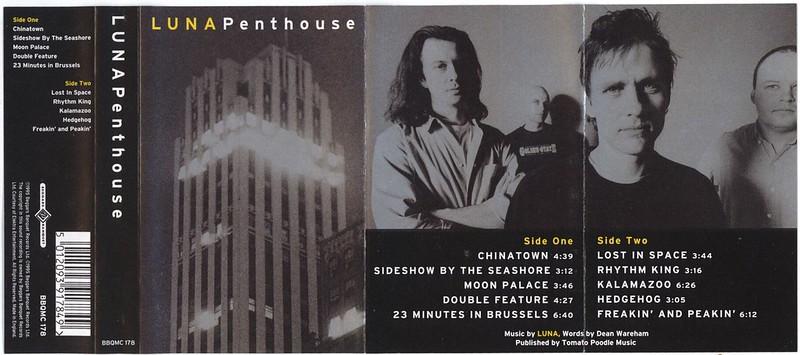 Luna - Penthouse cassette (Beggars Banquet, 1995)