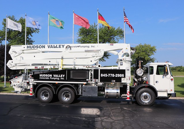 Hudson Valley Concrete Pumping, Inc. Truck