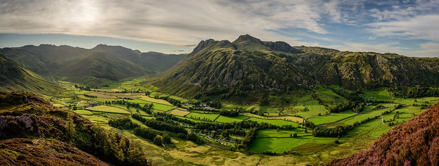 The Langdale Pikes, Lake District