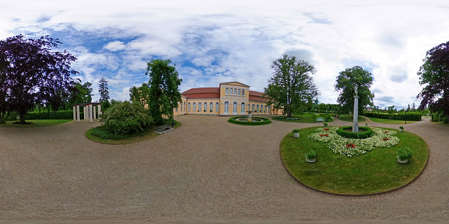 Neustrelitz - Schlosspark, Orangerie