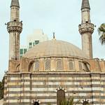 Damascus Takiyya al-Sulaymaniyya Complex 1554-60 Suleyman I (r.1520-66) Ottoman Prayer Hall Minarets back (1)