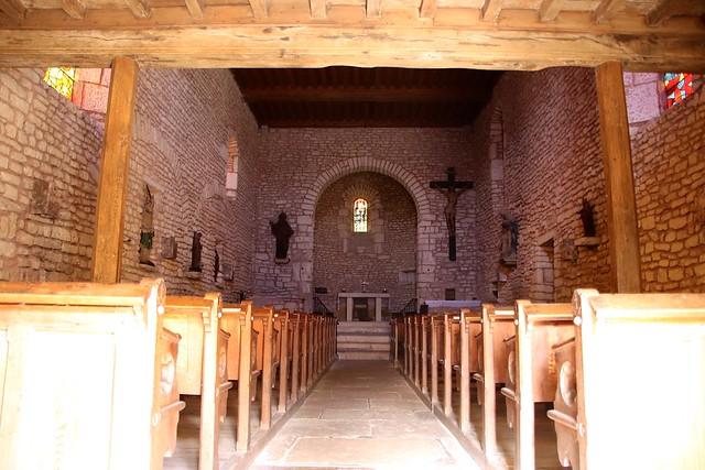 Alise-Sainte-Reine / Église paroissiale Saint-Léger Intérieur