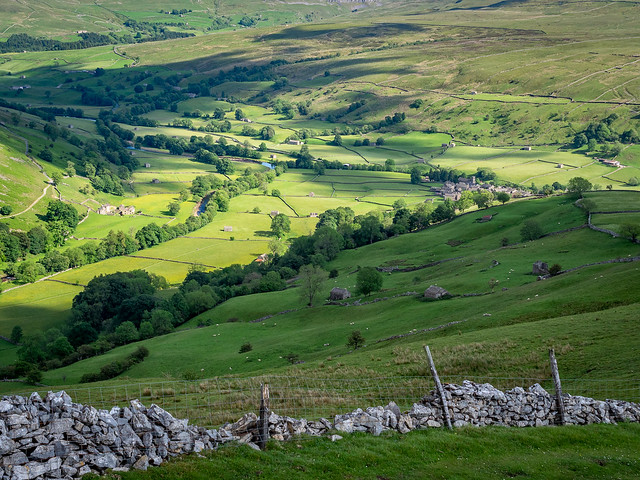 Muker in Swaledale, North Yorkshire