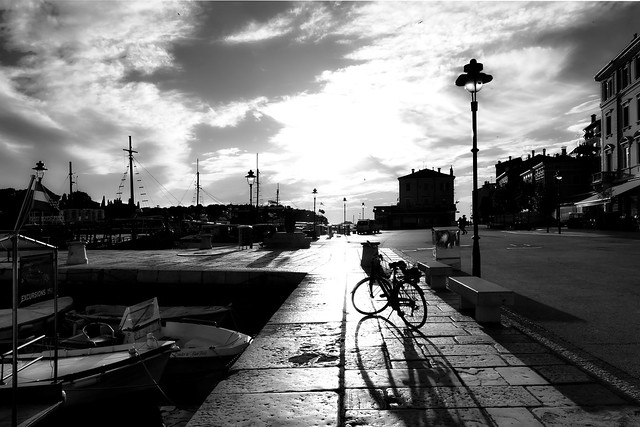 ° ° °  bicycle & shadow  ° ° °