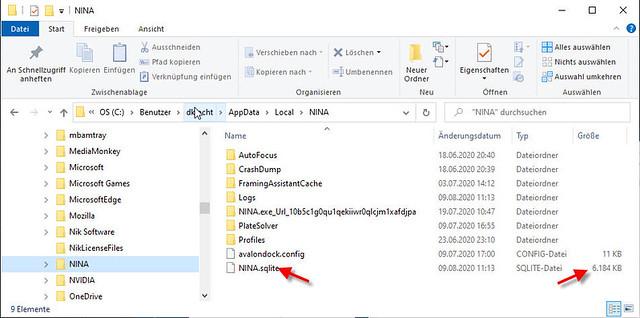 NINA-Database